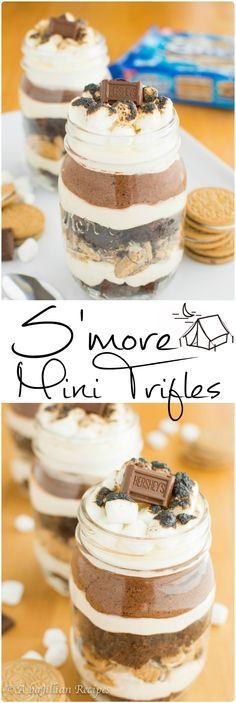 S'more-Mini-Trifles-abajillianrecipes.com