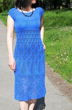 Платье ′Синяя птица′