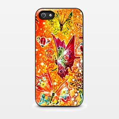 Butterfly Batik Indonesia Pattern For iPhone Cases
