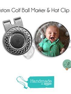 a323b1078c Amazon.com: Photo Golf Ball Marker & Hat Clip Set - Your Photo on a Golf  Ball Marker: Handmade