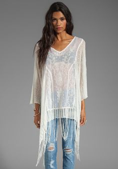 FREE PEOPLE Dancing with Flowers Kaftan