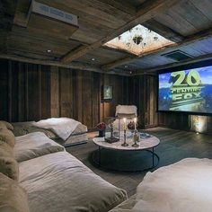 home theater ideas on a budget \ home theater ideas . home theater rooms . home theater . home theater design . home theater seating . home theater ideas on a budget . home theater ideas basement . home theater decor Home Theater Lighting, Home Theater Installation, Movie Theater Rooms, Home Cinema Room, Theatre Rooms, Movie Rooms, Cinema Room Small, Small Movie Room, Theater Room Decor