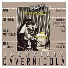 """CAVERNICOLA - solo musica """"grezza"""" da vinile"""