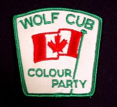 Wolf Cub Colour Party, 3 Tall, Scouting, Cubs, Beavers, Boy Scouts