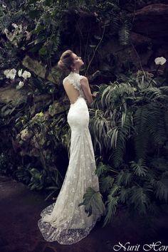 Nurit Hen wedding gown. www.nurit-hen.co.il elad@nurit-hen.co.il #wedding #gown #weddinggown #fashion #bride #fiance