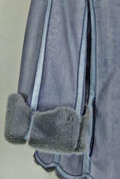 ELLIKER Reversible hand painted Mink coat