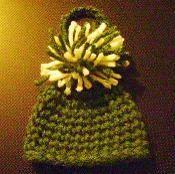 Beanie Ornament - via @Craftsy