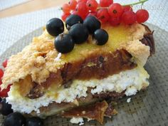 Tvarohová žemľovka z vianočky (fotorecept) French Toast, Breakfast, Food, Morning Coffee, Eten, Meals, Morning Breakfast, Diet