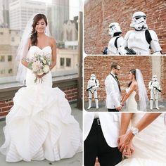 Star Wars wedding <3 <3 <3