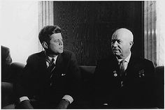June 1961 — The Vienna Conference Early in his presidency, Kennedy mistook a procedural domestic speech about war against American imperialism from Russian Premier Nikita Khrushchev as direct threats against America. This caused military tensions between the two superpowers to build up.  To solve the tension, the two leaders agreed to a conference in neutral Austria. The conference did not end well in Kennedy's eye, however Khrushchev walked away convinced that Kennedy was willing to go to war if he had to, and took steps to calm things down.