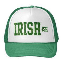 Irish-ish, Funny St. Patrick's Day Hat