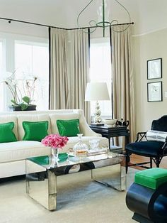 This Is A Gorgeous Example Of An Accented Neutral Room Because Most The