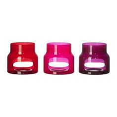 Love these Tea Light holders in Magenta & Purple!  $2.99 only in store.