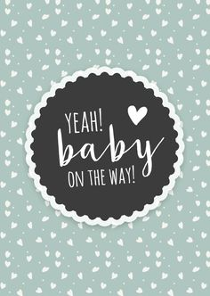 Leuke retro felicitatiekaart voor als er een baby op komst is, verkrijgbaar bij … Nice retro congratulation card for when a baby is coming, available at # for € Pregnancy Quotes, Baby Quotes, Pregnancy Art, Life Quotes, Erwarten Baby, Love My Kids Quotes, Birth Affirmations, Congratulations Baby, Wishes For Baby