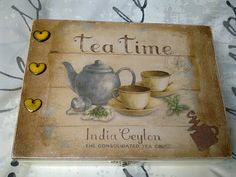 Box for teabags