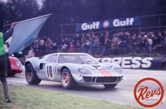 Ford GT-40 #Ford #GT40 #Race #RaceCar #Racing #GT