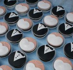 Boda cupcakes