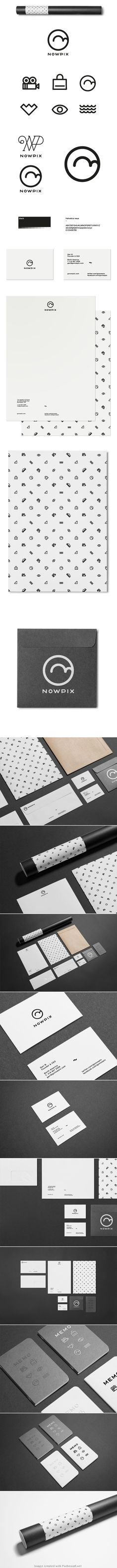 The guys from Nowpix asked me to create a branding identity and a website layout for their new project. Corporate Design, Brand Identity Design, Corporate Identity, Graphic Design Typography, Visual Identity, Branding Design, Identity Branding, Brochure Design, Packaging Design