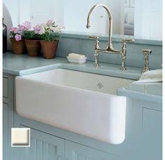 $999.99 fireclay sink design    Like, repin, share! :)