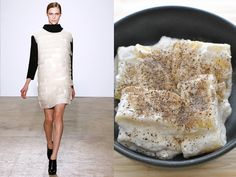 Costume National fw 2011-12 / Pasta with ricotta