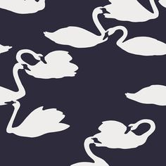 Eco Wallpaper - Exclusive Collection - Swan Flock - 2552