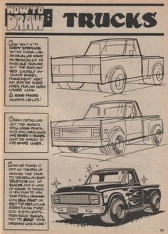 George Trosley - How to draw: Trucks