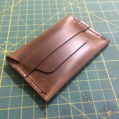 Handmade Horween Chromexcel Flap Wallet - $45 Card Case, Rolls, Wallet, Cards, Leather, Handmade, Hand Made, Buns, Bread Rolls