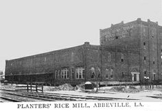 Planters' Rice Mill/Louisiana State Rice Milling Co./Riviana Foods - Abbeville, La.
