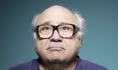 Q: Danny DeVito 'What's the closest I've come to death? I was once in the same airport as Dick Cheney'. Oh lord Most Beautiful Man, Beautiful People, Noam Chomsky, Danny Devito, My Big Love, Celebrity Portraits, Film Music Books, Famous Faces, Movie Tv