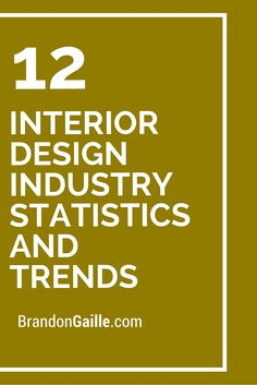 12 Interior Design Industry Statistics And Trends