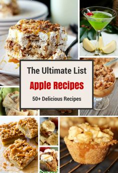 the ultimate list of apple recipes