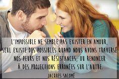 Citation amour impossible de Jacques Salomé
