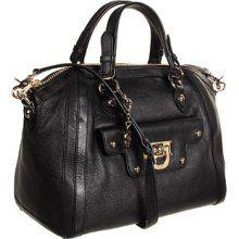 DKNY Heritage Large Top Zip Satchel Satchel Handbags