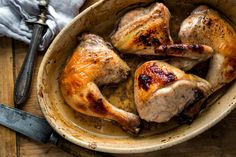 NYT Cooking: Honey Chicken