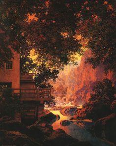 Maxfield Parrish Paintings | Maxfield Parrish Art