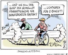 lustiges Bild 'Lichthupen fuer E-Bikes.jpg'- Eine von 4184 Dateien in der Kategorie 'Cartoons / Comics' auf FUNPOT. Kommentar: Immer aktuelle Themen...