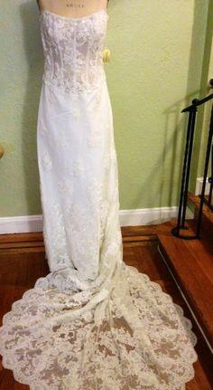 Demetrios Wedding Gown #Demetrios