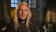 Jason Isaacs interviewed during filming of Order of the Phoenix