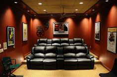 Simple home theater-different seating