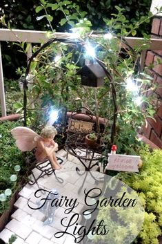Love these Fairy Garden lights! Miniature Fairy Garden LIGHTS can be used for garden or doll house. #ad #fairy #fairygardenlights #fairygardenideas #