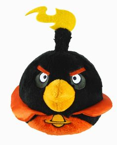 Peluche Angry Birds Space Pájaro Bomba | Peluches Originales