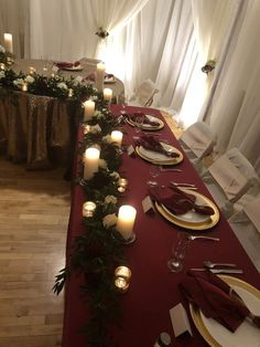 2019 Most Popular Wedding Colors for Fall and Winter--marsala/burgundy wedding c. 2019 Most Popular Wedding Colors for Fall and Winter--marsala/burgundy wedding centerpieces, vintage weddings. Popular Wedding Colors, Fall Wedding Colors, Burgundy Wedding, Quince Decorations, Wedding Decorations, Wedding Ideas, Marsala, Christmas Wedding Centerpieces, Winter Wedding Receptions