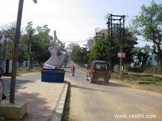 View of Mira Bai road, Durgapur