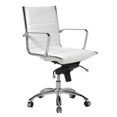 Love this Malcolm Office Chair - White from Z Gallerie