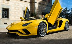 #Lamborghini in #Yellow