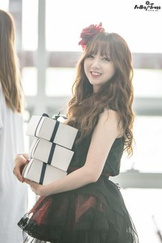 LOVELYZ8_ Kei_ Kpop_ #kei 160815 Girl Spirit Recording [copyright Belles Fleurs | do not crop or edit]
