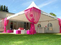 Decoratie tent