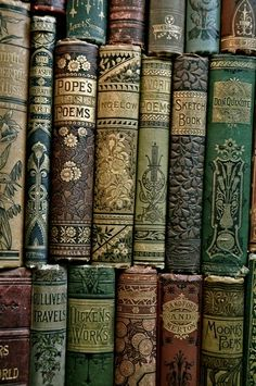 old books are wonderful company!