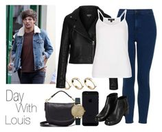 """Day With Louis"" by the4dipshits ❤ liked on Polyvore featuring ASOS, Topshop and Mulberry"