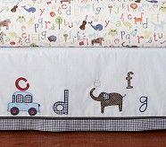 ABC Crib Skirt